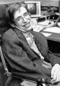 Stephen Hawking.Courtesy of Google.