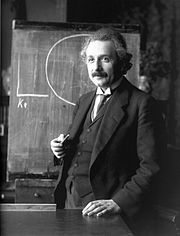 Albert Einstein 1921. By F.Sschmutzer. Courtesy of Wikimedia Commons.