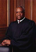Clarence Thomas. Courtesy of Wikimedia Commons.