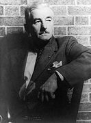 William Faulkner. Courtesy of Carl van _Vechten via Wikimedia Commons.