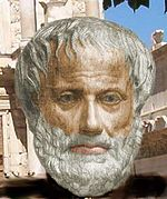 Aristotle. Courtesy of Wikimedia Commons.