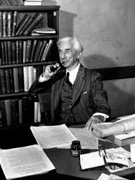 Bertrand Russell. Courtesy of Wikimedia Commons.