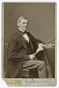 Ralph Waldo Emerson. Courtesy of Wikimedia Commons.