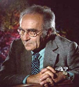 Jacob Bronowski. Courtesy of Wikipedia.