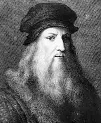 Leonardo de Vinci. Courtesy of Wikimedia Commons.