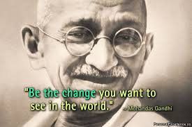 "Mahatma Ghandi. Courtesy of Google ""free to use images""."