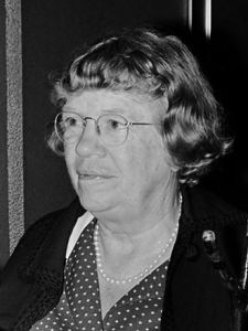 Margaret Mead 1972.Courtesy of Wikipedia.