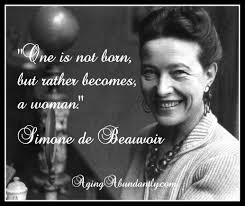 Simone de Beauvoir. Courtesy of Wikipedia.